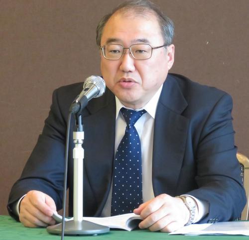 Photo of Senior Managing Director Suzaka Nakazato, who is infected with corona, is hospitalized.