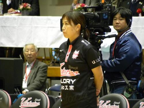 Photo of 竹下佳江氏「あぁ幸せだった」姫路に捧げた4年間