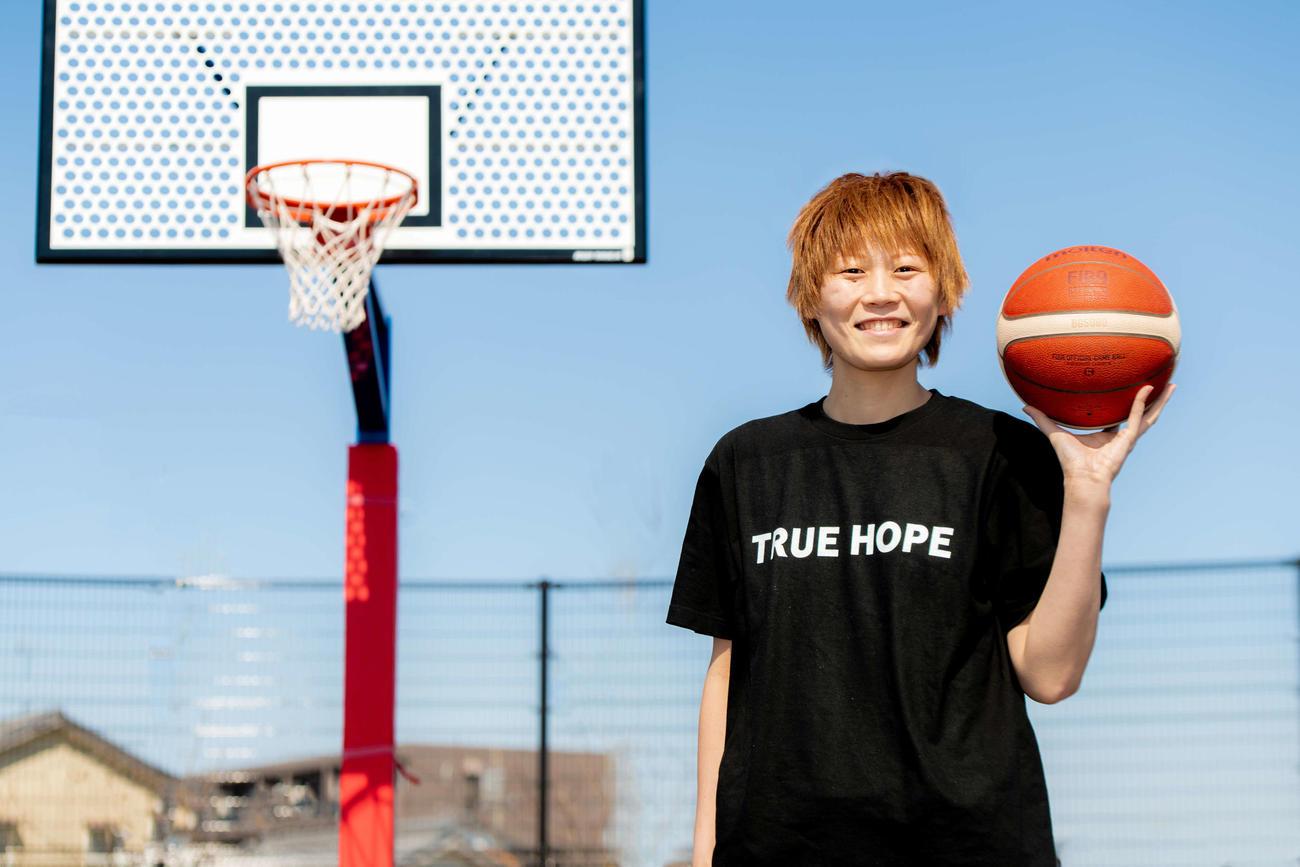 自身で会社を設立し、社長に就任した現役バスケットボール選手の高田真希(C)2020TRUEHOPE
