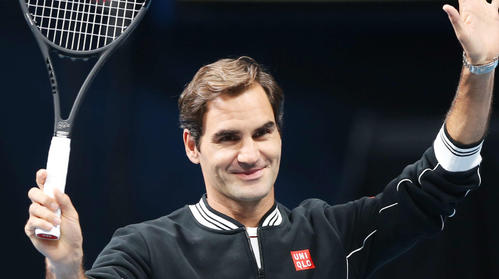 """Photo of Federer's proposal to unify men's and women's groups """"when it's now one"""""""