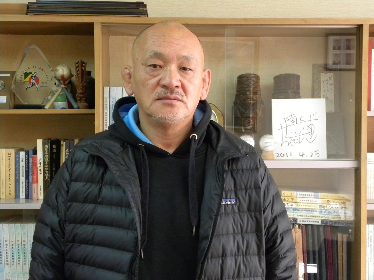 奈良朱雀(すざく)高でラグビー部監督を務める山本清悟氏