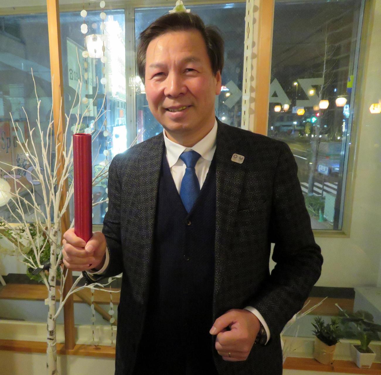 日本卓球協会の宮崎義仁強化本部長