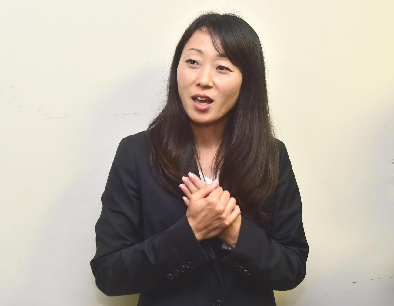 園田学園女子大教授の荒木香織さん