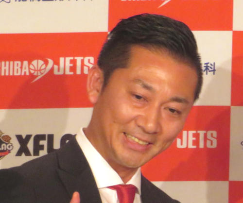 Photo of Mr. Shimada, 49-year-old Chairman of Chiba to be the next chairman of the B League