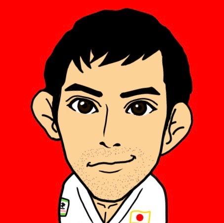 リオ五輪銅メダル高藤直寿のイラスト
