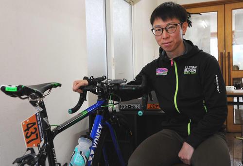 Photo of 遠藤健太さん 自転車オンライン競技会で交流を
