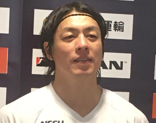 Photo of Handball former Japan representative 39-year-old Daisuke Miyazaki right shoulder surgery