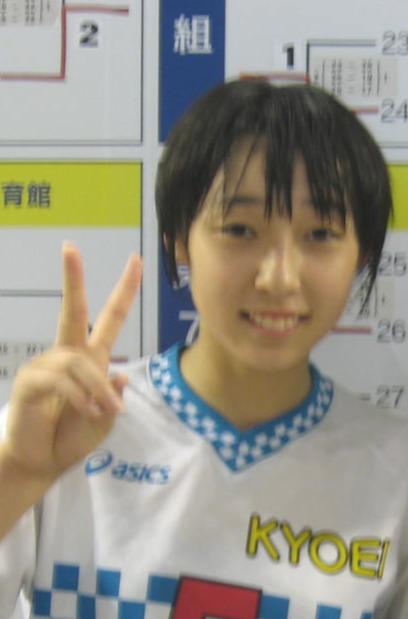 荒谷栞(2014年8月9日撮影)