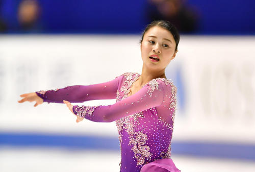 """Photo of Figure Yuna Shiraiwa adopts this season's SP """"Eden no Higashi"""""""