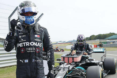 """Photo of Bottus of Mercedes wins PP """"Chance of victory"""""""