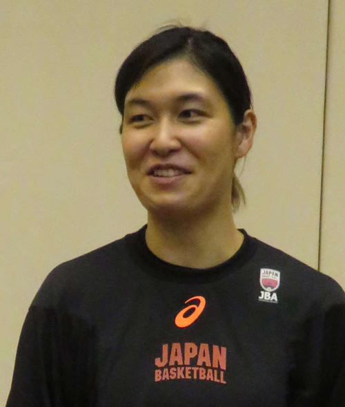 Photo of Yusuke Osaki, representative of Japan's basketball girls, announced his retirement