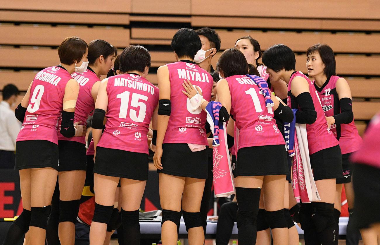 バレーボール第5回Vリーグ - JapaneseClass.jp