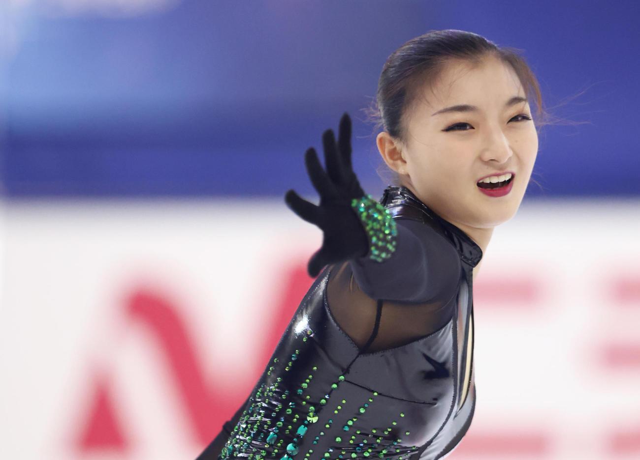 坂本花織(2020年9月13日代表撮影)