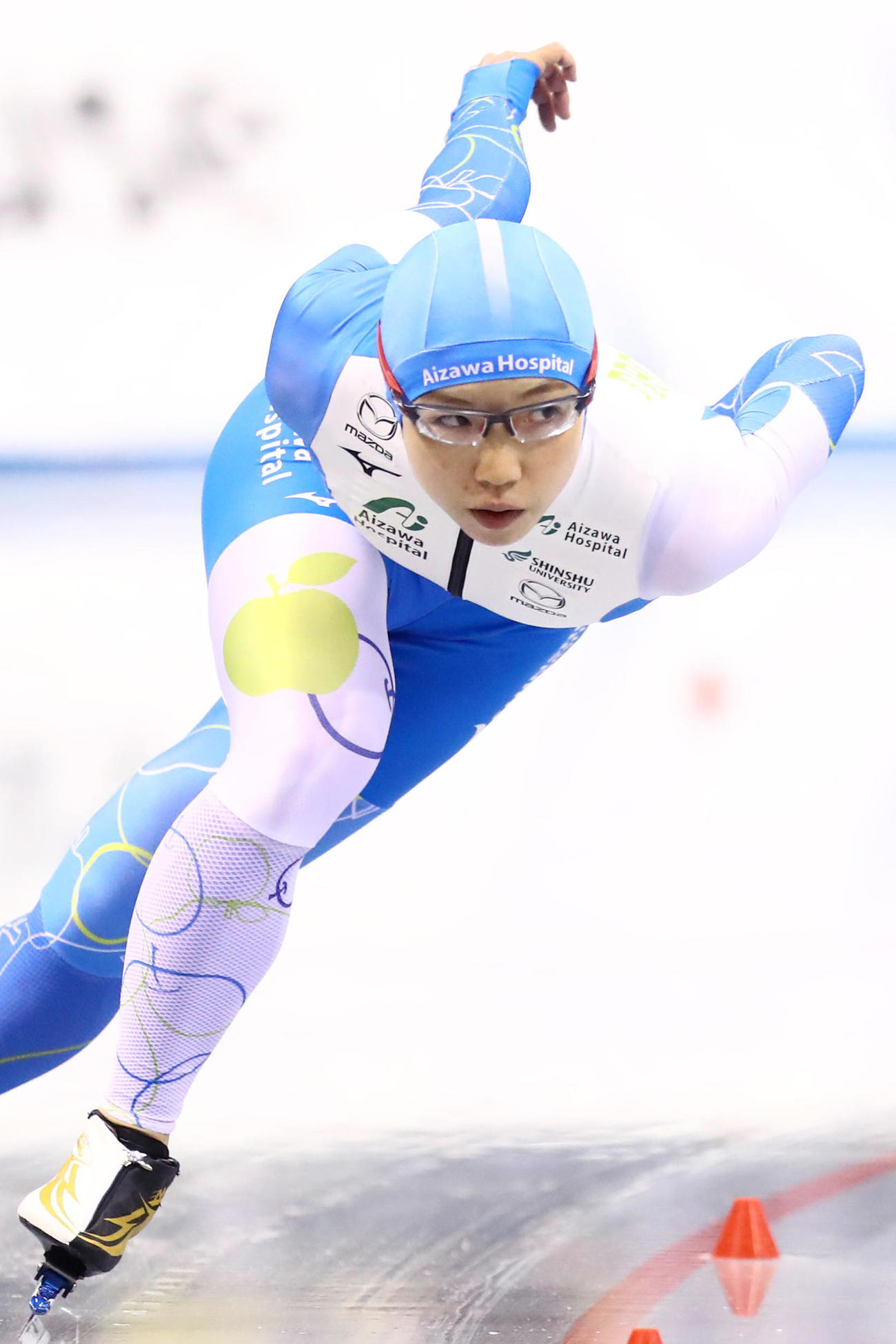 女子1500メートル3位の小平奈緒(代表撮影)
