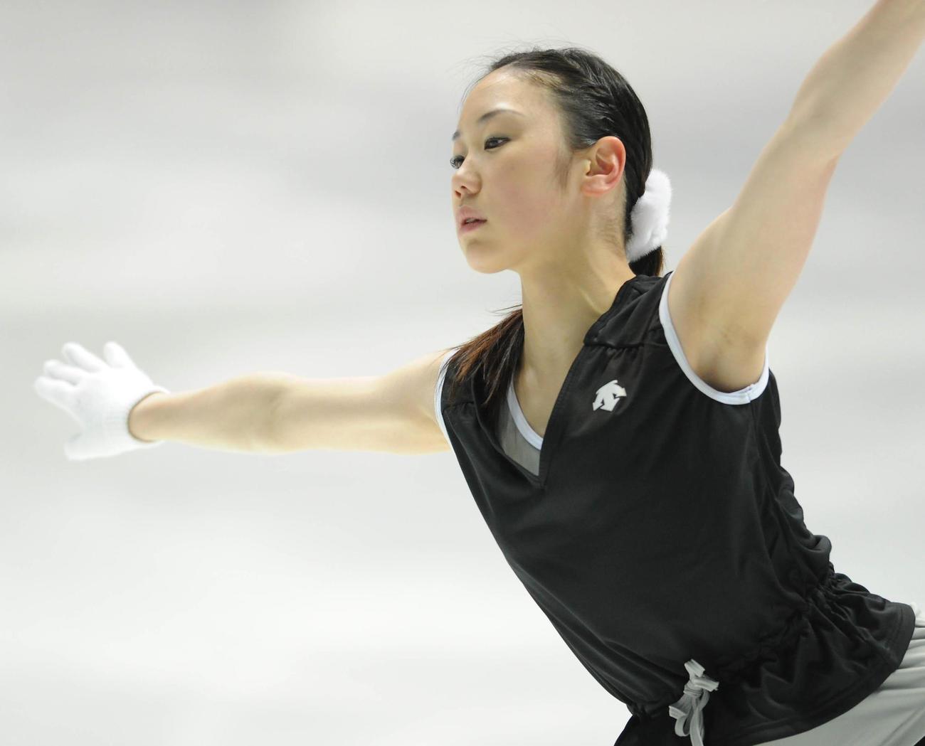 中野友加里(2009年12月25日撮影)