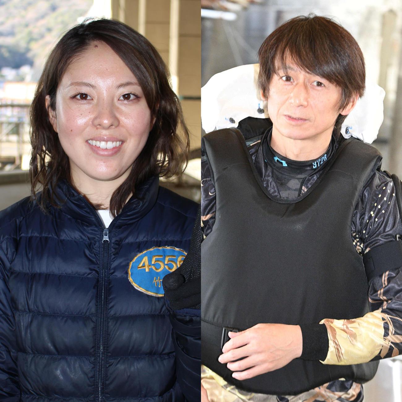 竹井奈美と桂林寛