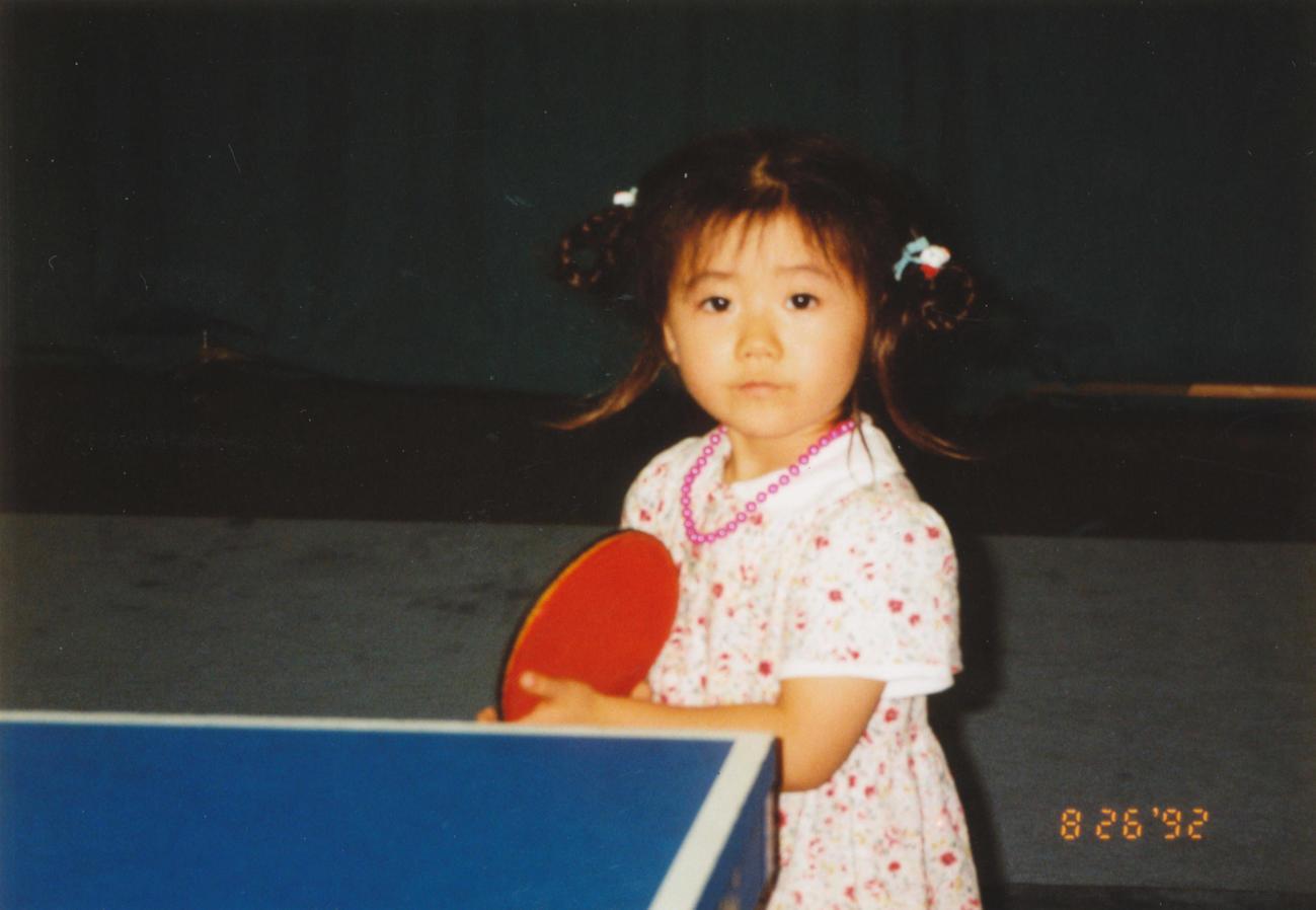 92年、3歳で卓球ラケットを握り始めた福原愛さん