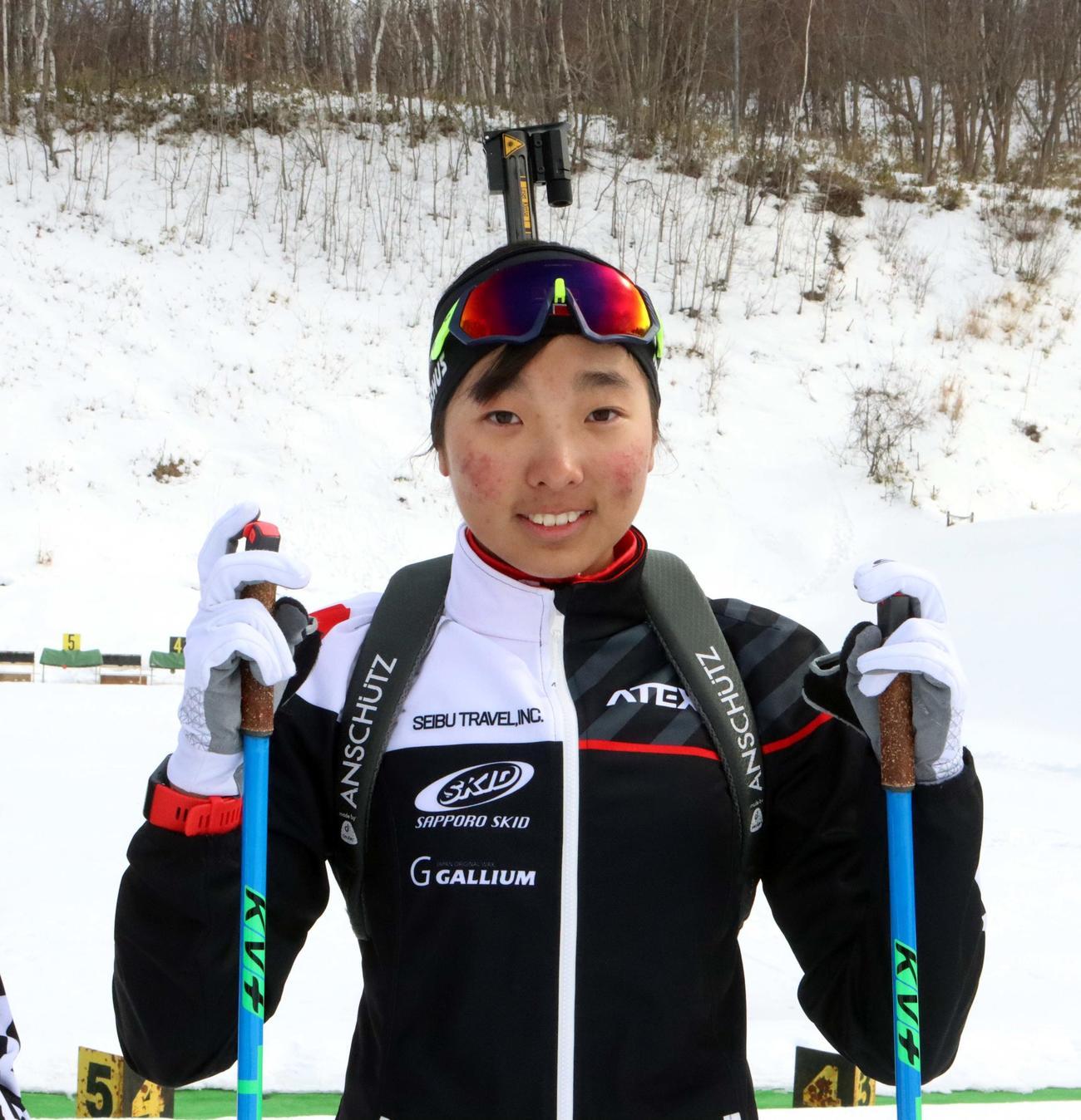 ユース・ジュニア世界選手権に初出場する岩佐(撮影・永野高輔)