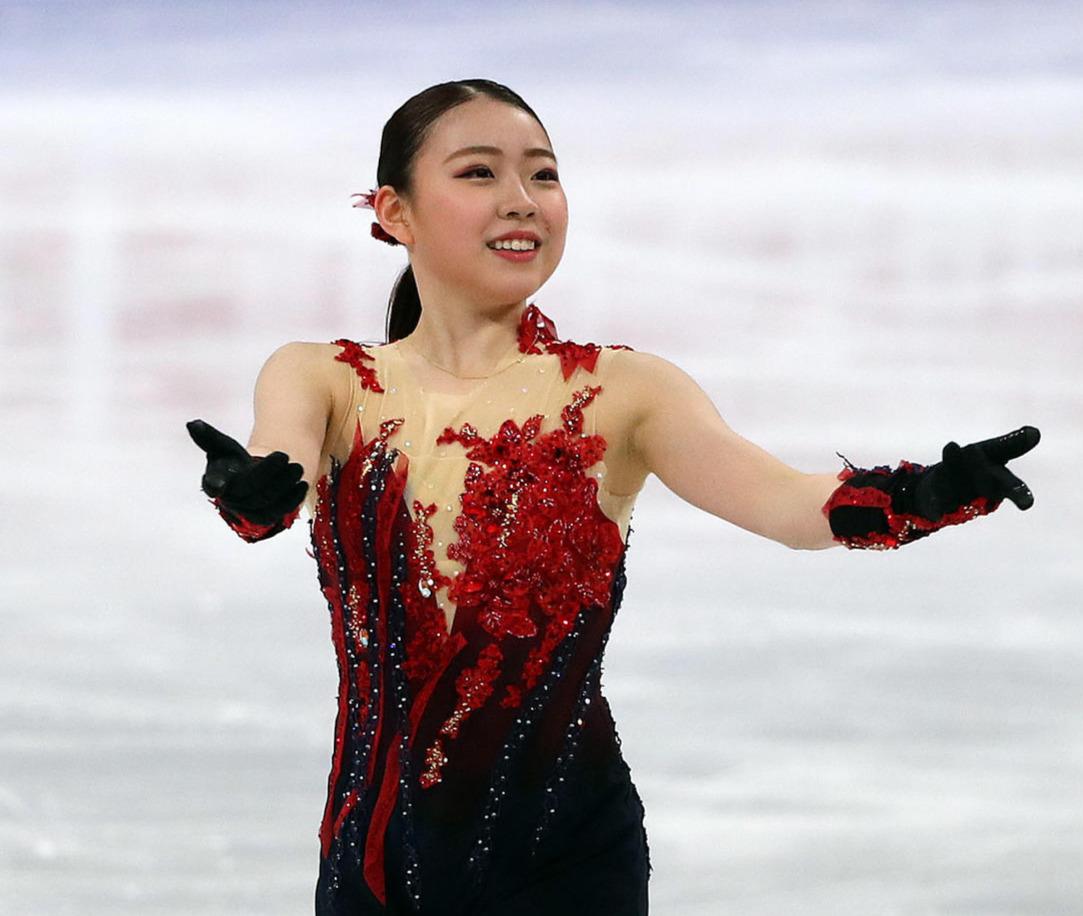 世界選手権女子SPに出場した紀平梨花(撮影・PNP)