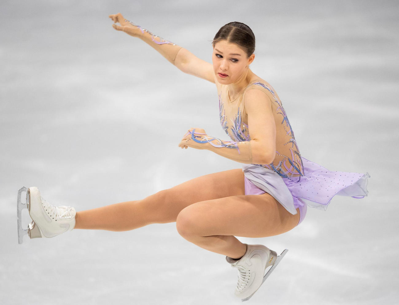 世界選手権女子SPに出場したイエニー・サーリネン(ロイター)