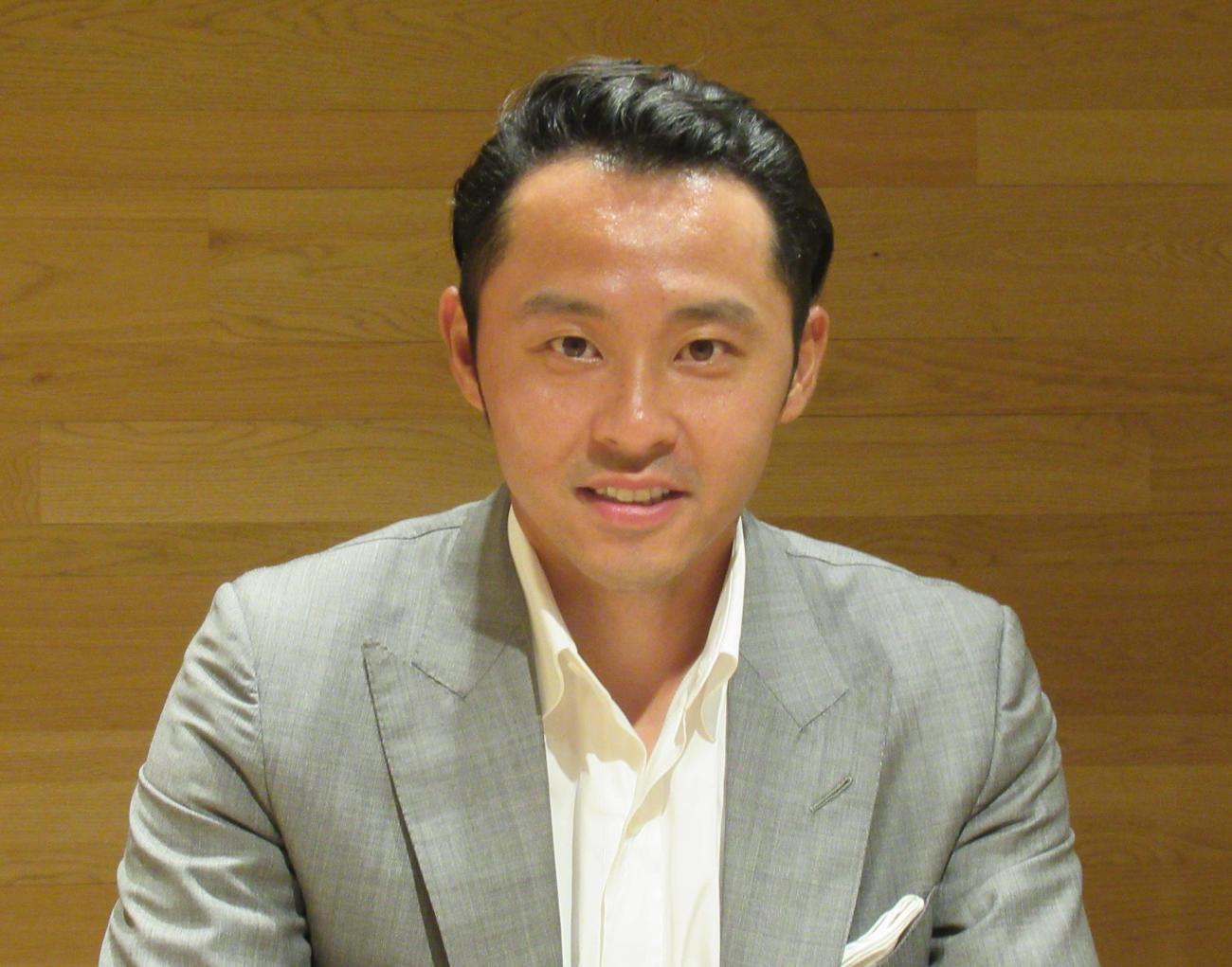 競泳国際リーグの日本チーム「トーキョーフロッグキングス」で代表を務める北島康介氏(2020年9月7日撮影)