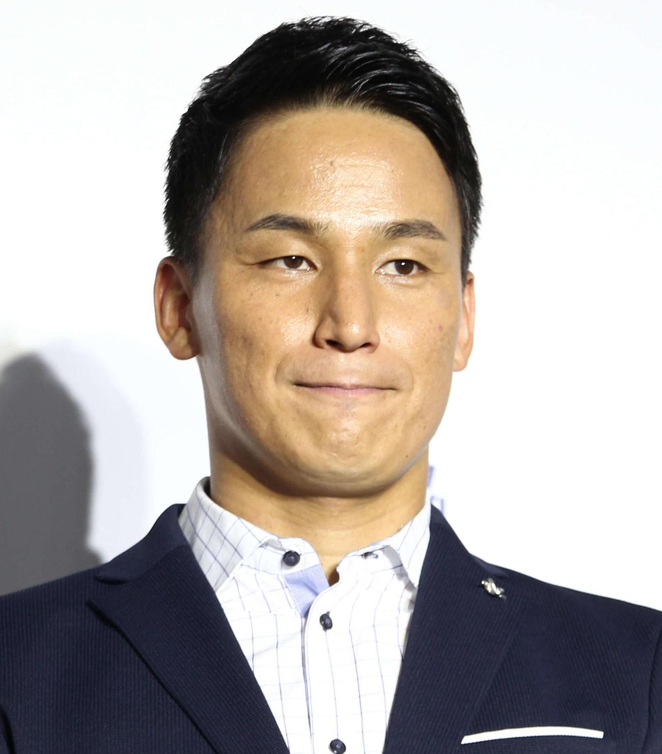 松田丈志氏(2018年7月23日撮影)
