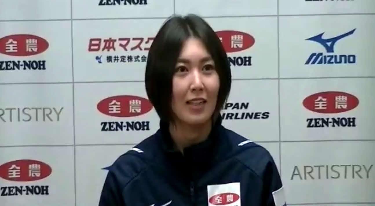 オンライン会見に臨んだカーリング女子の北海道銀行スキップ吉村
