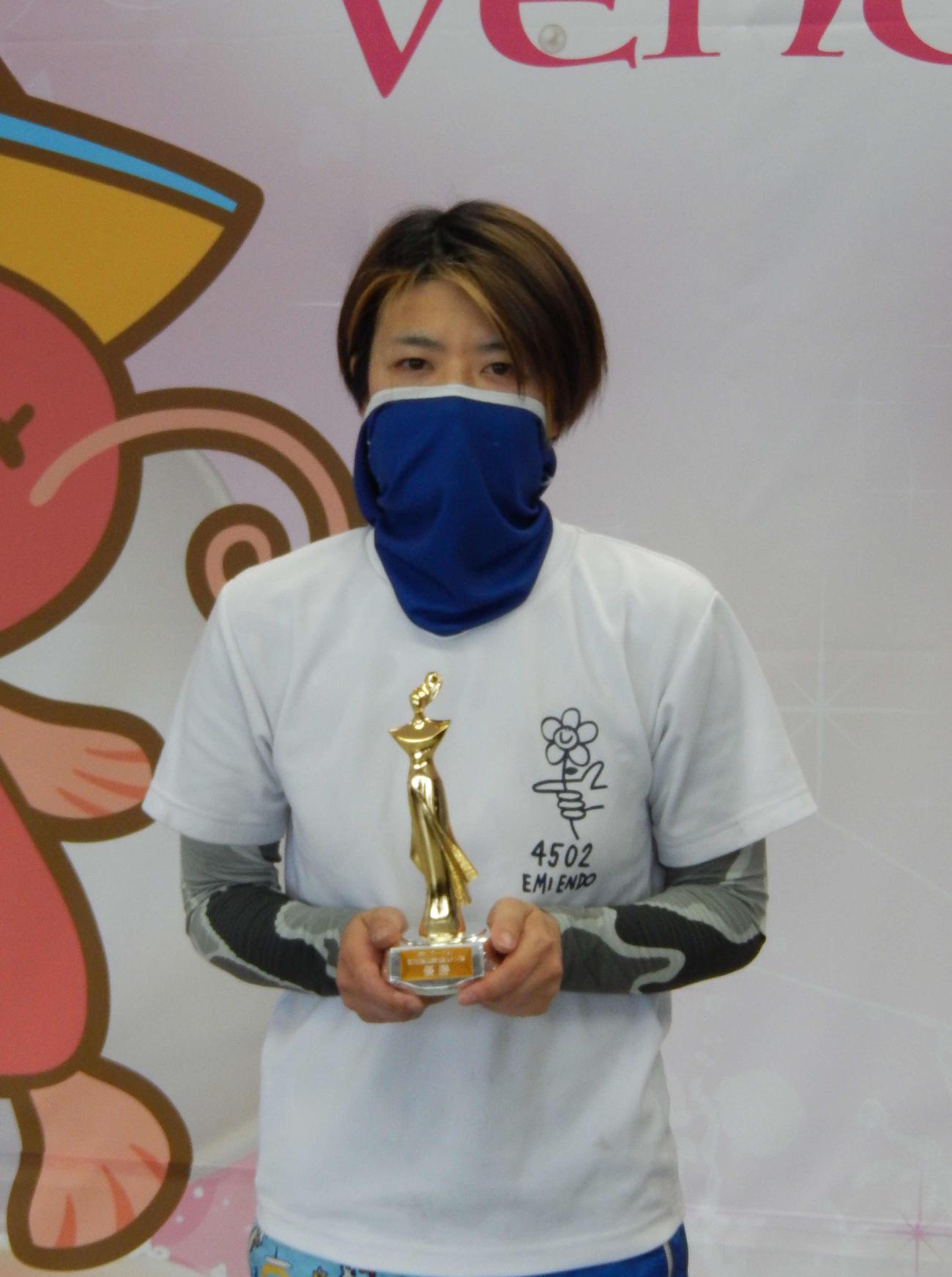 遠藤エミが2M逆転を決めて、地元びわこで4回目の優勝を決めた
