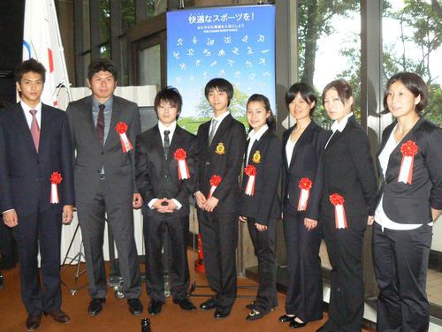 2010年JOCスポーツ賞受式