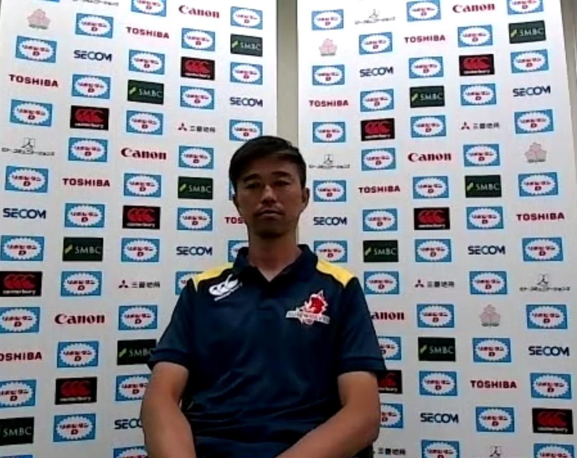 日本代表戦に向けて思いを語るサンウルブズの沢木敬介コーチングコーディネーター