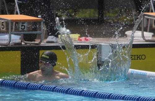 新潟産大付・植木が大会新、2位に13秒差つけ優勝/新潟県高校総体水泳