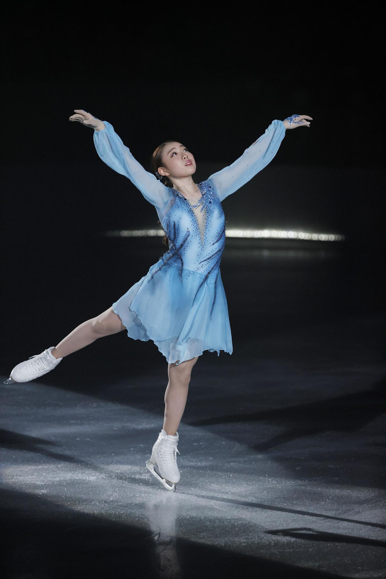 ザ・アイスで演技する紀平梨花(C)THE ICE 2021/Koichi Nakamura