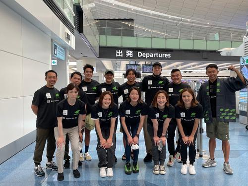 東京五輪水泳2冠の大橋悠依「すごいことした実感ない」イタリア遠征に出発