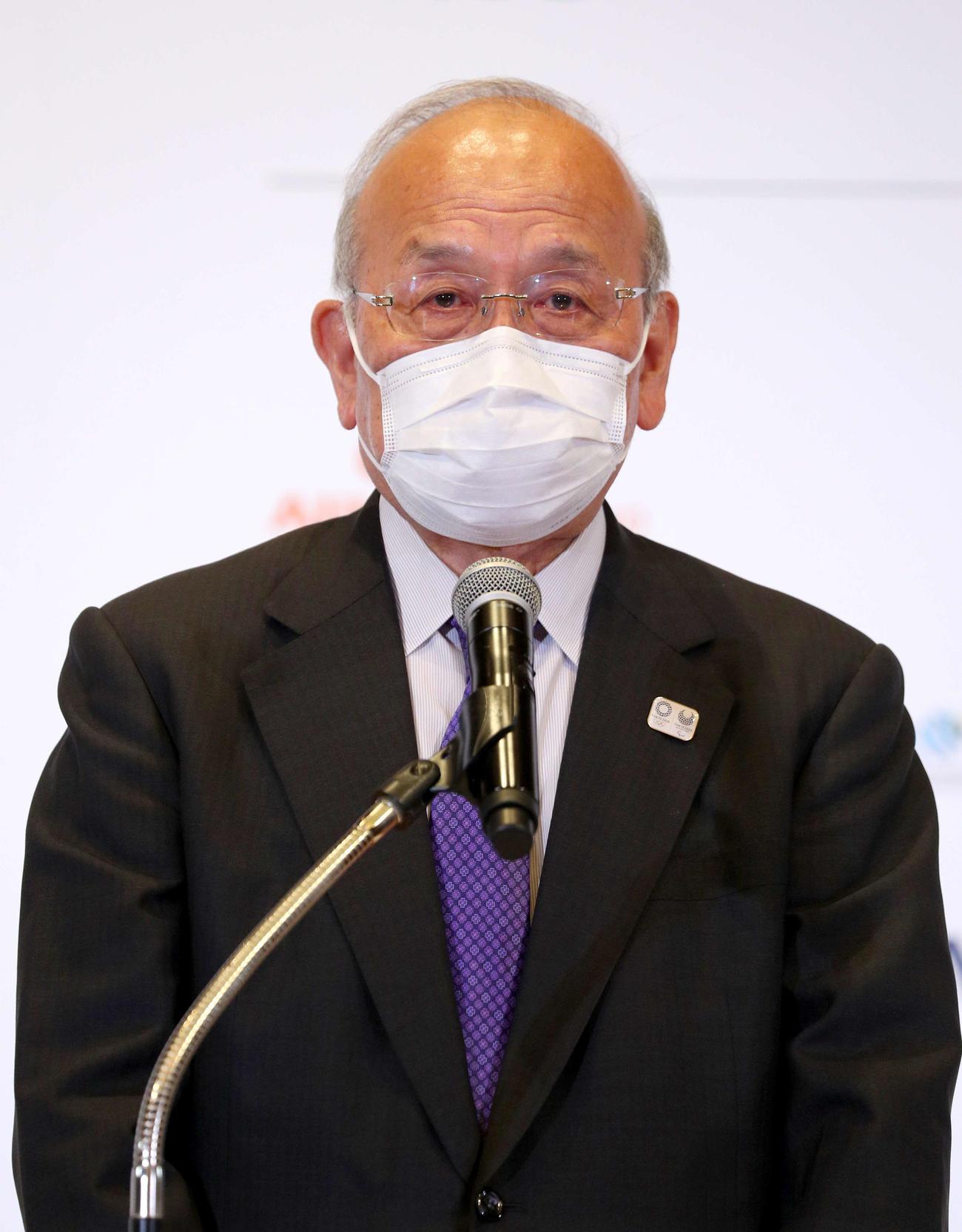 日本パラリンピック委員会(JPC)鳥原光憲会長(2021年9月6日撮影)
