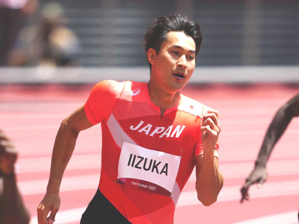 東京五輪陸上男子200メートル予選での飯塚翔太(21年8月3日撮影)