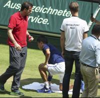 錦織が棄権!ウィンブルドン前哨戦で3年連続 - テニス : 日刊スポーツ