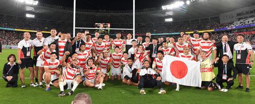 日本は南アフリカに完敗も力出し切った/W杯詳細 , ラグビー