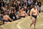 鶴竜、横綱初の反則勝ち 白鵬が物言い - 大相撲ニュース : nikkansports.com